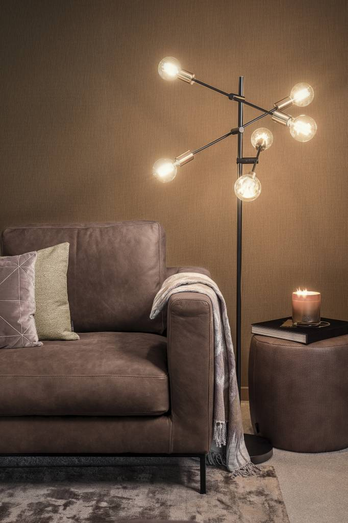 dome-deco-vloerlamp-zwart-en-goud